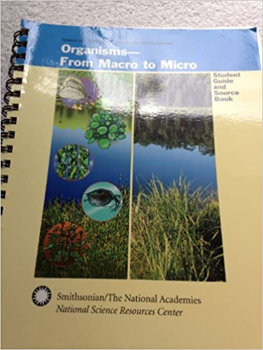 Descarga gratuita de libros en archivos pdf. Organisms, Macro to Micro: Study Guide and Source Book FB2 0892788984