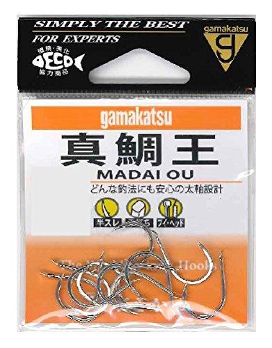 がまかつ(Gamakatsu)真鯛王フック(銀)12号釣り針の画像