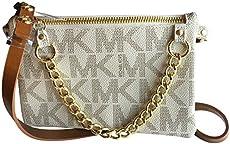 3ceef24e283d UPC 884585656476 Michael Kors MK Signature Fanny Pack Belt Bag ...