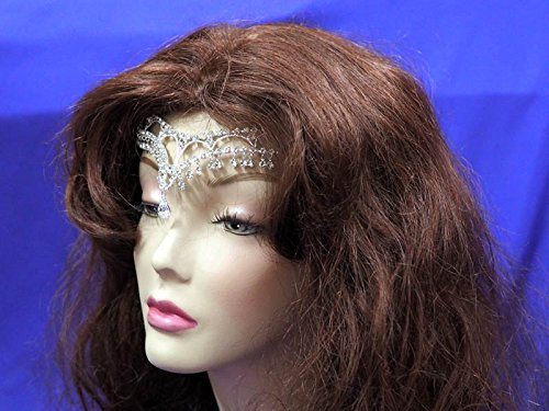 [Forehead Jewelry CC7 Circlet] (Medieval Bride Costume)