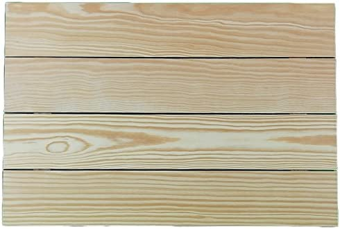 Tabla de madera. En pino, para pintar. Ideal para decoración y ...