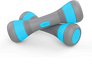 Adjustable Dumbbells (2.2-4.4lbs), Hand Weights Sets for Women Gym Workouts, Core Home Fitness Free Weights
