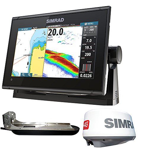 Simrad GO9 XSE MFD TotalScan/Radar Bundle ()
