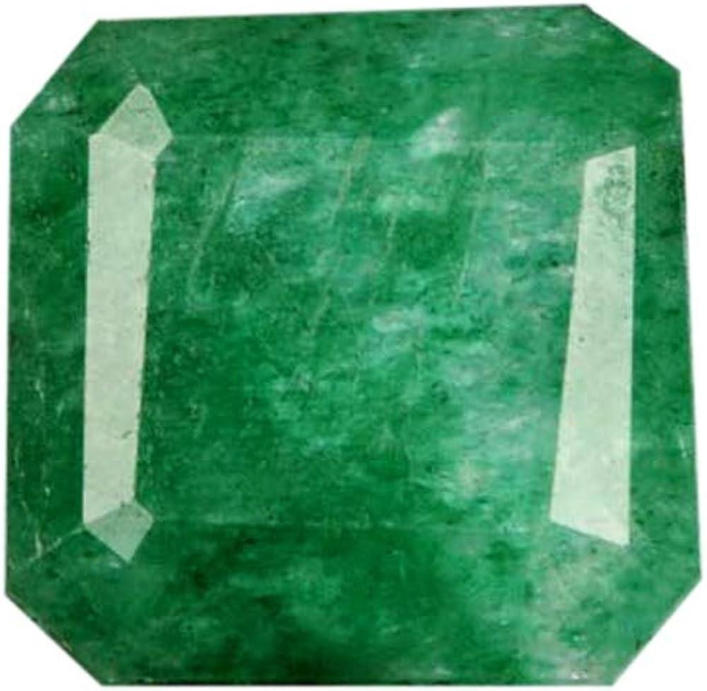Gemhub 5.30 Quilates joyaa Esmeralda Verde Natural/Egl Certificado Piedras Preciosas Sueltas/Anillo, Colgante AJ-301