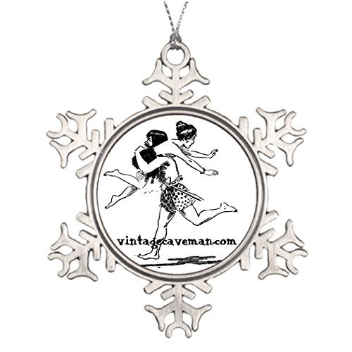 narxekezhaeta Tree Branch Decoration Caveman Christmas Decoration Ideas Caveman ()
