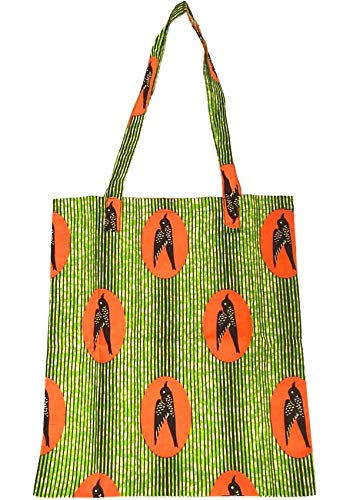 Fashion Lazy Portable Handbag Shopping Bag African Batik Cotton Bag Female Shoulder Bag-A