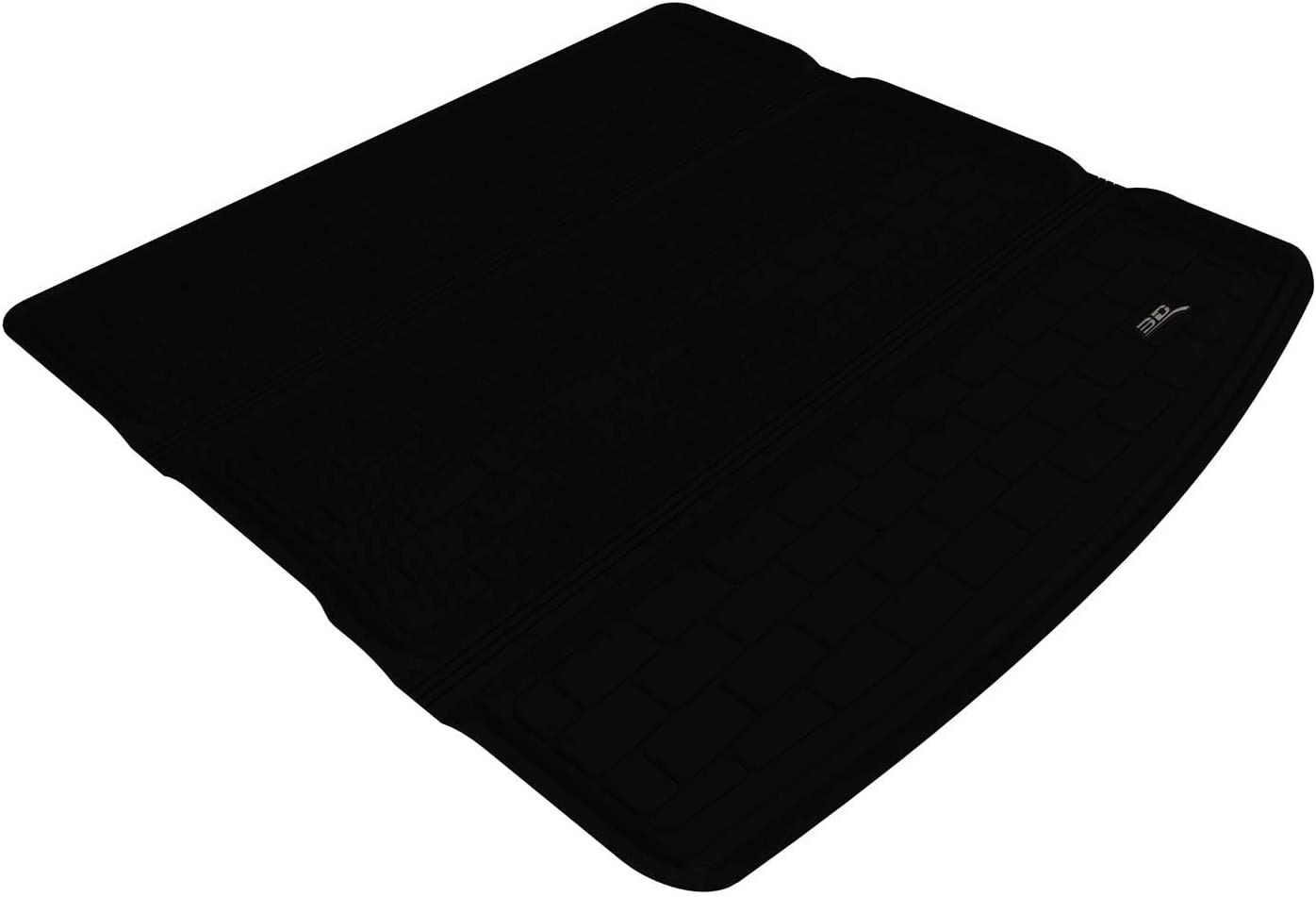 Kagu Rubber Black 3D MAXpider Cargo Custom Fit All-Weather Floor Mat for Select Dodge Journey Models