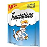 TEMPTATIONS Functional Treats for Cats Hairball Control Chicken Flavor 4.9 Ounces by Temptations