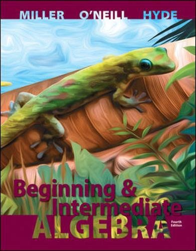 Download Beginning and Intermediate Algebra (Mathematics