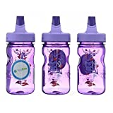 Nalgene Grip-n-Gulp Everyday Kids 12oz Water Bottle - 2 Pack (Purple Hoot)