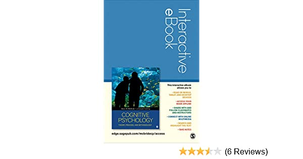 Amazon com: Cognitive Psychology Interactive Ebook Passcode