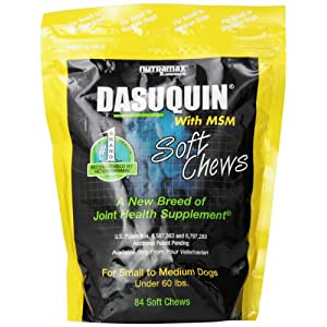 Nutramax Dasuquin with MSM Soft Chews, Small/Medium Dog, 84 Count 14