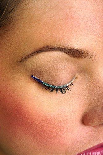 Eyelid Jewels (Rubie's Costume Co Blue/White Jewel Eyelids Costume)