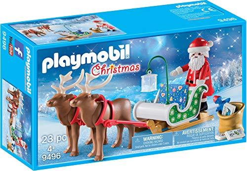PLAYMOBIL® Santa's Sleigh with Reindeer, Multicolor