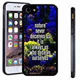 iphone 7 case, SoloShow(R) Slim Shockproof TPU Soft Case Rubber Silicone for Apple iphone 7 [Colorful b]