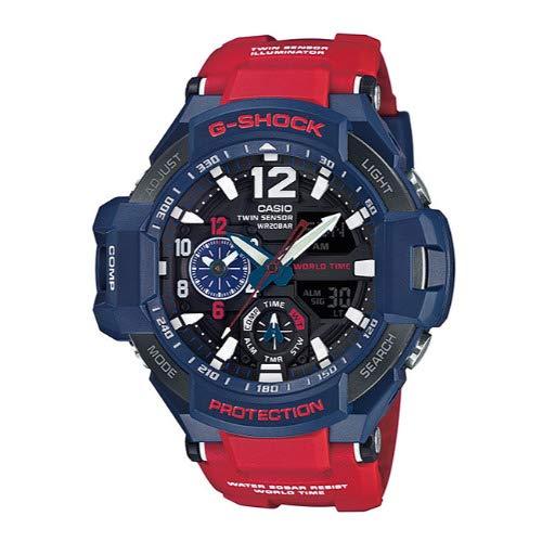 Casio G-Shock GA-1100 Gravitymaster Stylish Watch - Blue / One Size