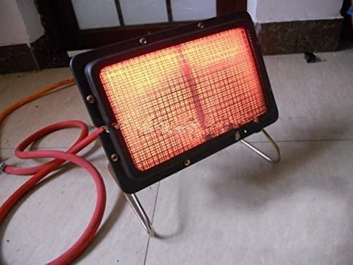 25x15cm Portable adjustable Energy saving LPG LNG liquefied gas heaters,small home use infrared furnace