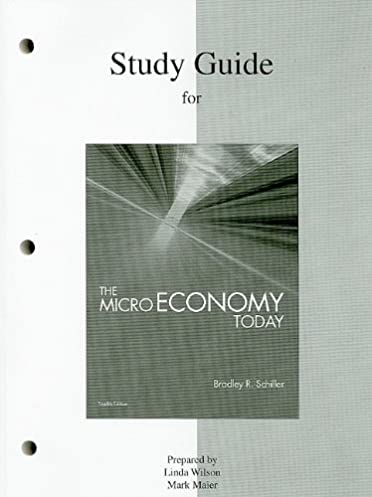 study guide for the micro economy today 12th edition 9780077247485 rh amazon com Microeconomics Supply and Demand Microeconomics Graphs