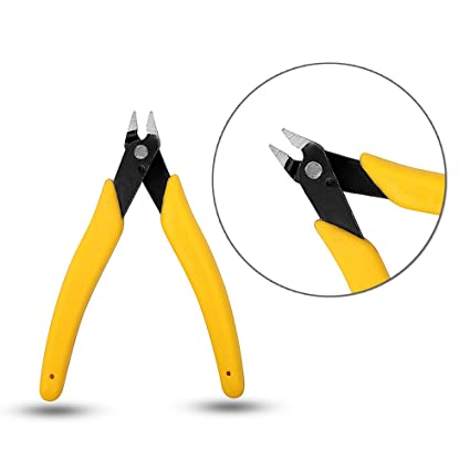 BigTree 13cm Wire Cutter Alicates de corte eléctrico Jewelry Wire Flush Cable Cutter Side Snips Herramienta