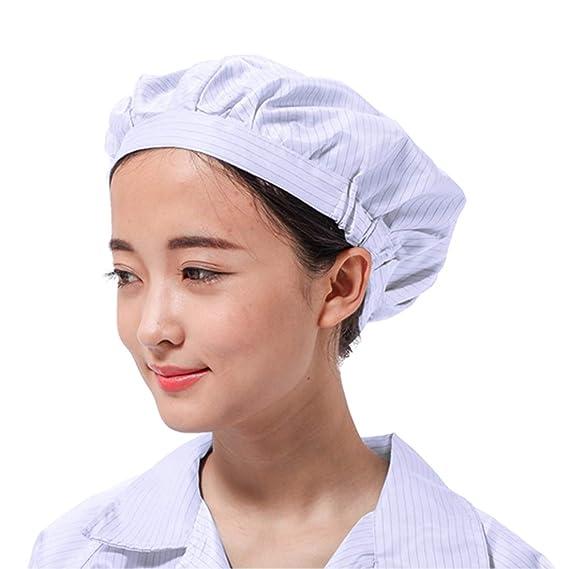 vraie qualité pas cher pour réduction Vente chaude 2019 Pinji Casquette de Travail Toque de Cuisinier Chef Unisexes ...