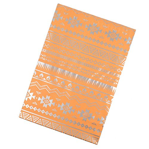 Inspired Mailers Poly Mailers 10x13 Deluxe Southwest Tribal Pattern – Pack of 100 – Unpadded Shipping Bags (Pink/Silver) by Inspired Mailers (Image #2)