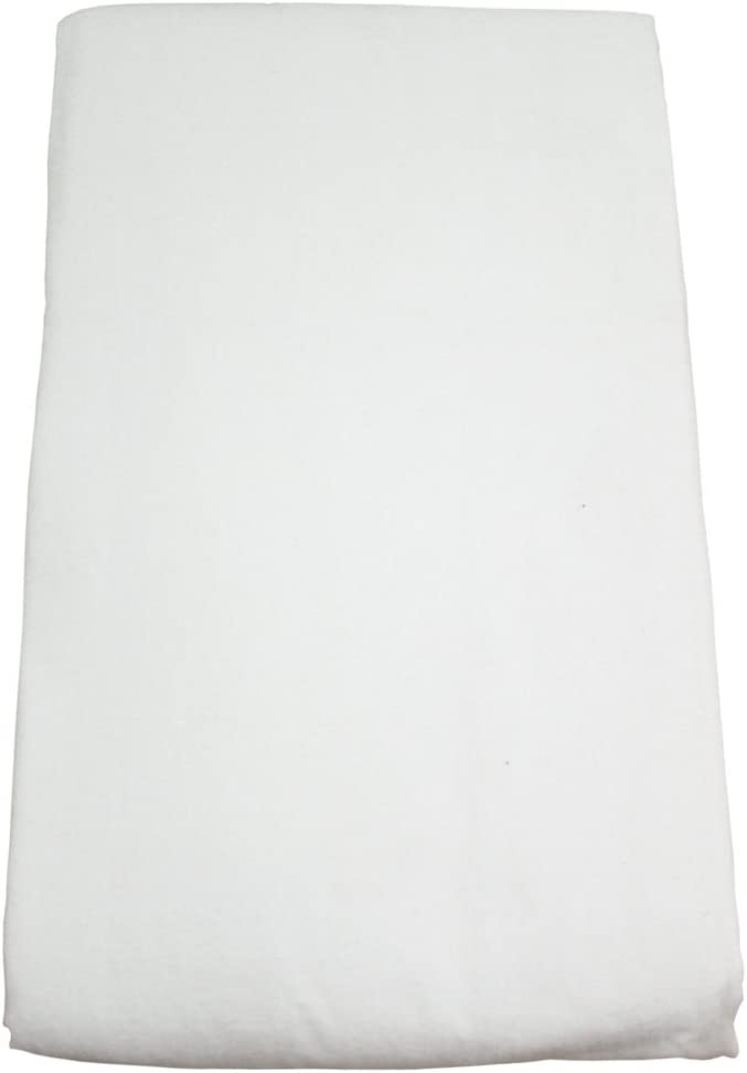 Body Linen Flannel Fitted Massage Sheet, White: Health & Personal Care