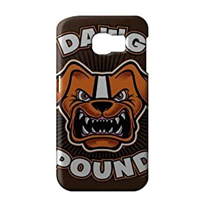 SHOWER 2015 New Arrival cleveland browns logo 3D Phone Case for Samsung S6