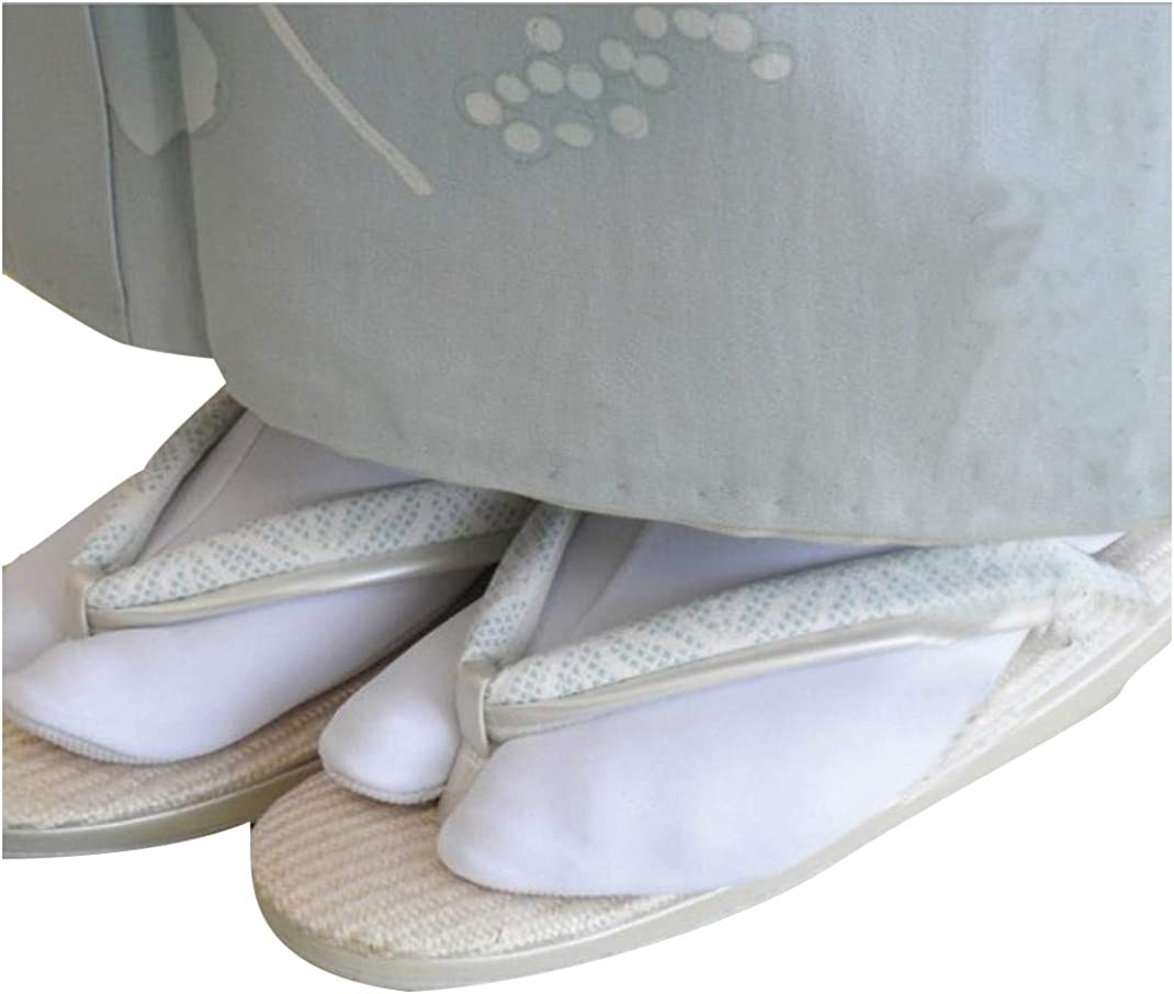 1Pair Child/'s Split Toe Sandal Short Japanese Socks Geta Kimono Flip Flop Cotton
