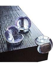 KIDUKU Premium Eckenschutz und Kantenschutz | 12 Stück | transparent aus Kunststoff für Tisch- und Möbel-Ecken | Stoßschutz für Baby's und Kinder