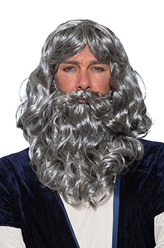 Forum Novelties Biblical Wig and Beard Costume Set (Costume Beards And Wigs)