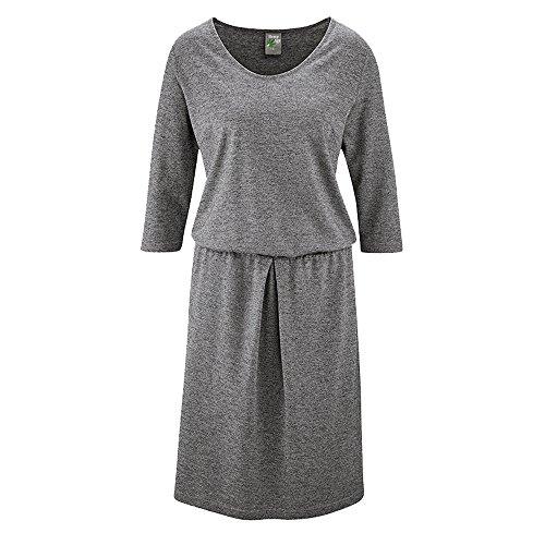 Damen Kleid HempAge HempAge Graphit Damen 7BqCTxv