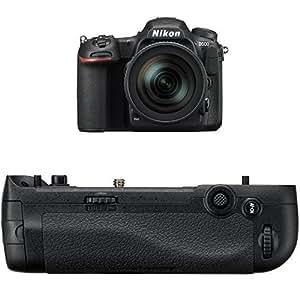 Nikon D500 DX-Format Digital SLR with 16-80mm ED VR Lens w/ Nikon MB-D17 Multi Battery Power Pack