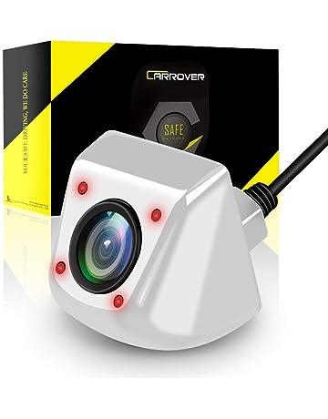 CAR ROVER Camaras de Coche con 4 LED de Infrarrojos-Plata