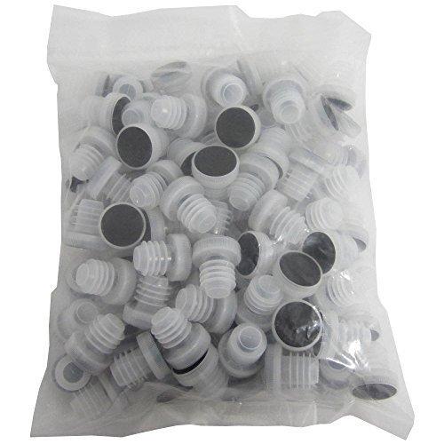 Chicago Brew Werks All-plastic Reusable Tasting Corks (Pack of 100)
