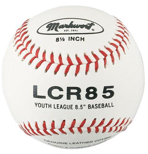 Markwort 8 1/2-Inch  Junior Size Youth League Leather Cover Baseball (Dozen)
