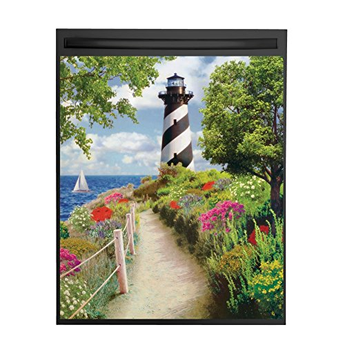 Seaside Nautical Lighthouse Dishwasher Magnet