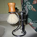OwnMy Universal Shaving Brush Stand Simple Metal