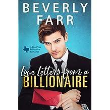 Love Letters from a Billionaire: A Clean Billionaire Romance (Lone Star Billionaires Book 1)