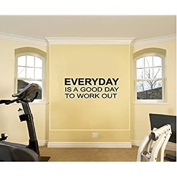 Amazoncom Never Give Up Over The Door Vinyl Wall Decal Sticker - Custom vinyl decal application instructionshow to apply wall decals windafurniture