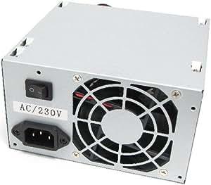 Cablematic - Fuente de alimentación de 220VAC PC 500W ATX-EPS12V