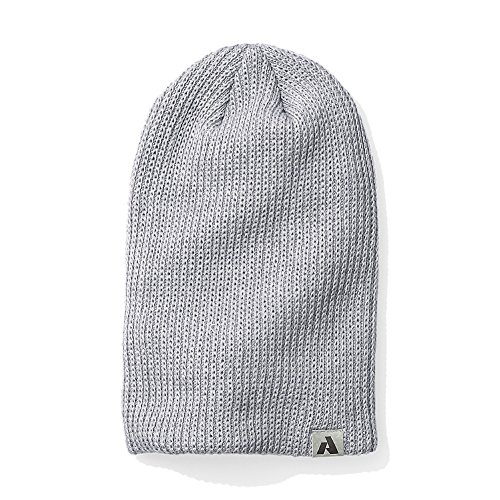 Ascent Beanie - Eddie Bauer Womens First Ascent Slouch Beanie, HTR Gray Regular ONE Size