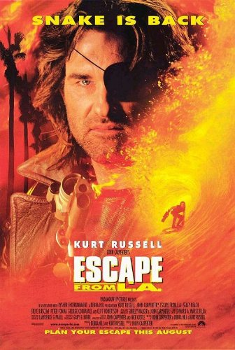 Poster-Escape From L.A. Original Movie Poster