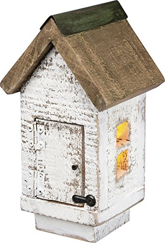 Colonial Garden Arbor (Lighted Colonial Birdhouse)
