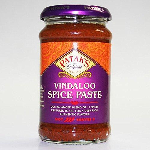 Patak's Vindaloo Curry paste, 10-Ounce (Pack of (Vindaloo Paste)