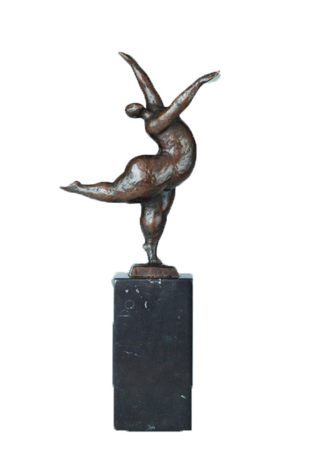 Toperkin Abstract Bronze Statuen TPE-736 Dancer Art Deco Skulptur Home Dekor