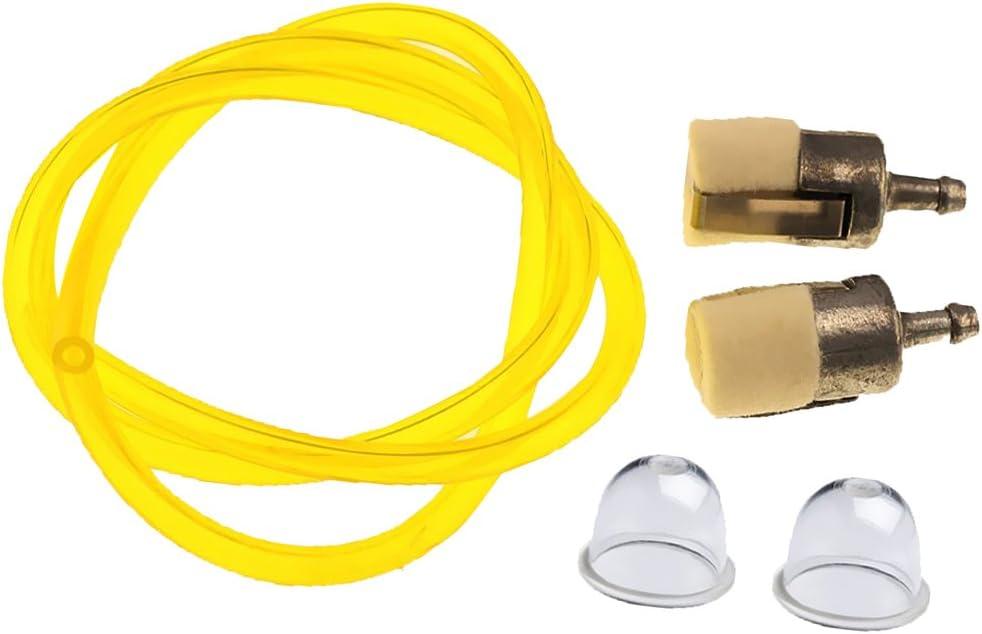 MagiDeal Primer Bulb+Fuel Filter+Fuel Line Hose Tube For HONDA GX22 GX25 GX31 GX35