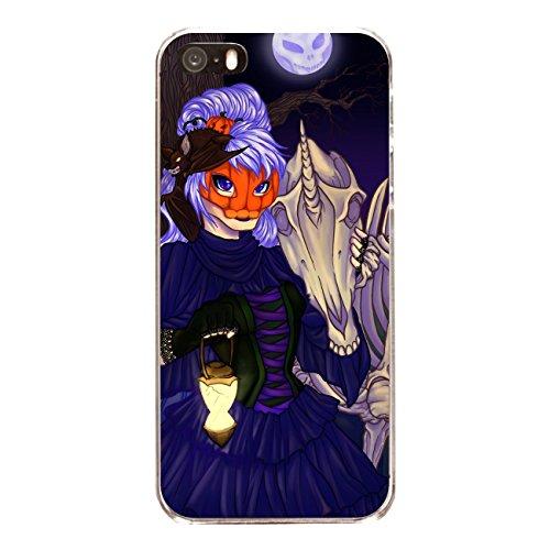 "Disagu Design Case Schutzhülle für Apple iPhone 5 Hülle Cover - Motiv ""Halloween-Hexe"""