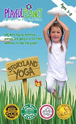 Amazon.com: Storyland Yoga: Yoga for Kids and Families (ages ...