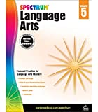 Carson Dellosa - Spectrum Language Arts, Focused Practice for Language Arts Mastery for 5th Grade, 176 Pages, Ages 10-11 with Answer Key