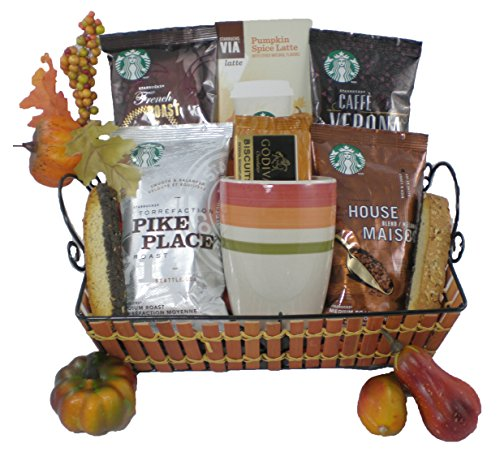 Starbucks Fall Gourmet Coffee Gift Basket